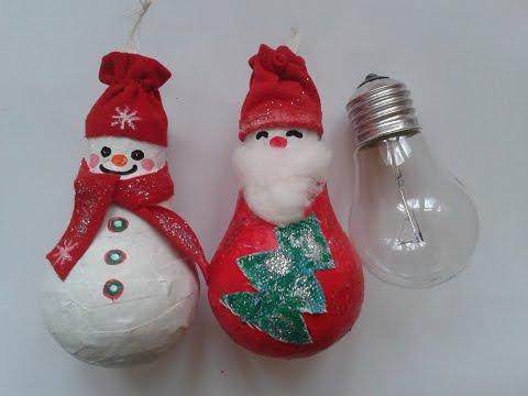 Самые простые новогодние игрушки своими руками