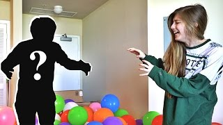 you won't believe what scared her…(PRANK WARS)