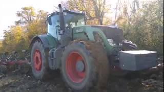 Düllőzés  Fendt Vario 936 Power + Gregoire-Besson RW