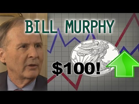 $100 Silver Coming Much Quicker Than People Think, Gold $1900+ - Bill Murphy Interview