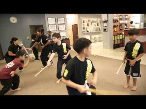Kids Escrima Class at the Las Vegas Kung Fu Academy Image 1