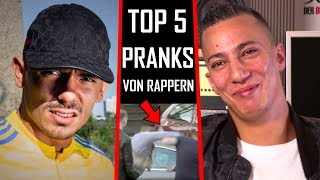 🔴 Die Lustigsten PRANKS von Rappern | TOP 5 🔴 Capital Bra, Nimo, Farid Bang...