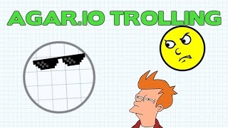 AGARIO TROLLING WITH SPY SKIN - FUNNY MOMENTS IN AGAR.IO