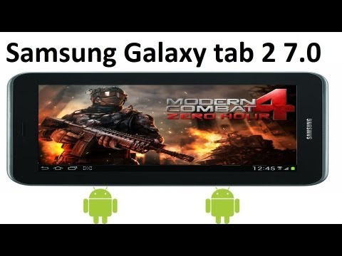Gameplay   Modern Combat 4 Galaxy Tab 2 7.0 (APK)