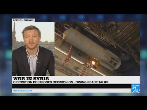 """Syria Peace Talks: opposition postpones decision to participate as """"preconditions are not met"""""""