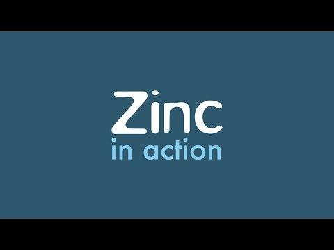 Zinc in action