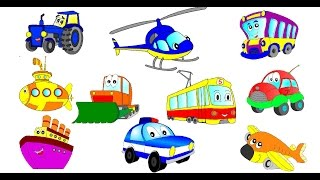 Cartoons about cars. Child development cartoon about cars (part 1)