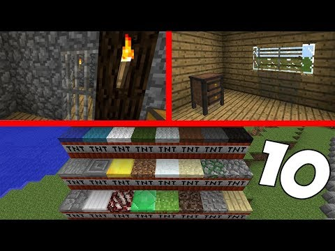 10 ТРЮКОВ, ФАКТОВ в Minecraft PE 1.2.6