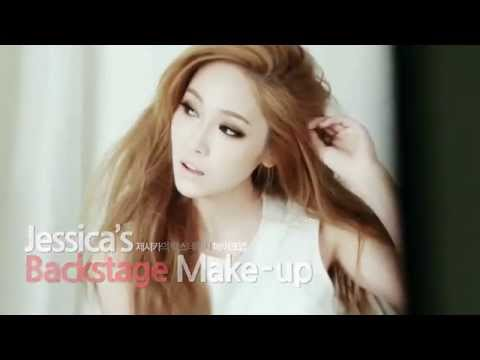 [Eng Sub] SNSD Jessica Backstage Make Up
