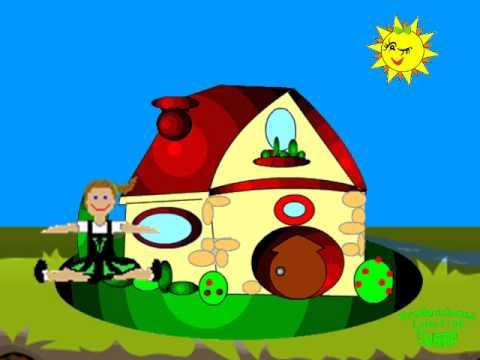 Canci n infantil yo tengo una casita youtube for Casitas infantiles para jardin