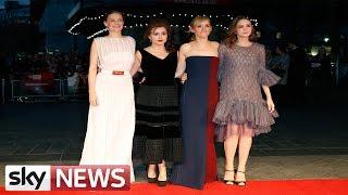 Red Carpet Interview With 'Suffragette' Stars Carey Mulligan & Helena Bonham Carter