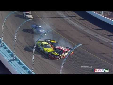 Авария на гонках NASCAR Brad Keselowski