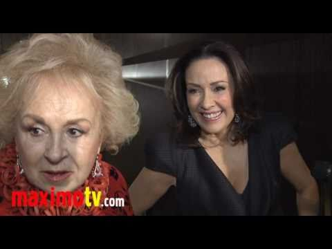 PATRICIA HEATON & DORIS ROBERTS Interview at Inner-City Arts