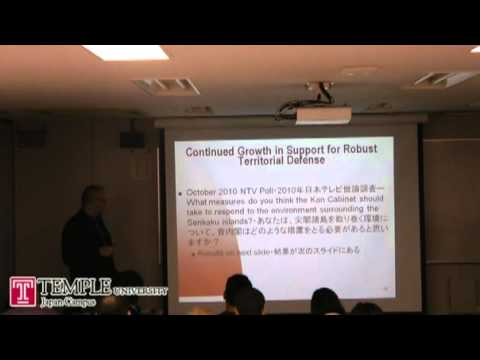 Public Lecture: Rethinking Japanese Public Opinion and Security