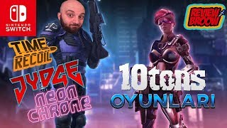 NEON CHROME-JYDGE-TIME RECOIL-10TONS GAMES (nintendo switch)