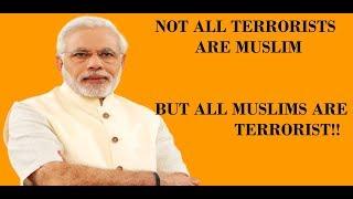 Modi on Islamic Terrorism and Muslims