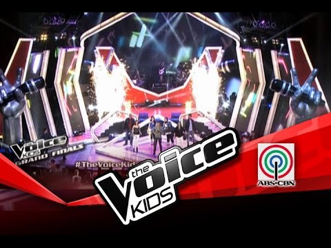 The Voice Kids Philippines Finale Opening By Team Coaches, Top 4 Kids & Voice Artists video