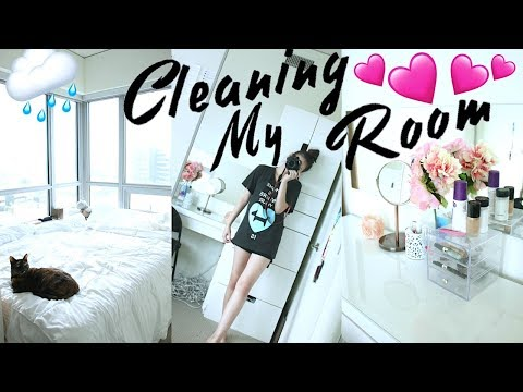 CLEANING MY ROOM time lapse 2017 💕 room tour