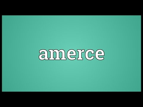 Header of amerce