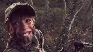 Kids Reaction to Shooting a Big Buck!