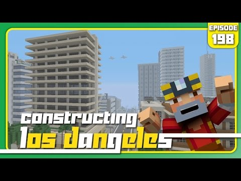 Minecraft Xbox 360: Constructing Los Dangeles - Episode 198! (Pollution?!)