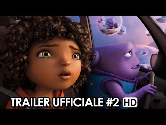 Home - A Casa Trailer Ufficiale Italiano #2 (2015) - Steve Martin, Rihanna Movie HD