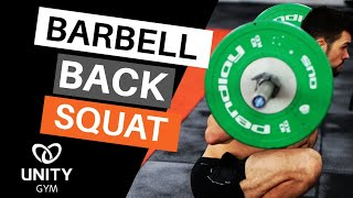 How To Squat [High Bar Back Squat Tutorial]