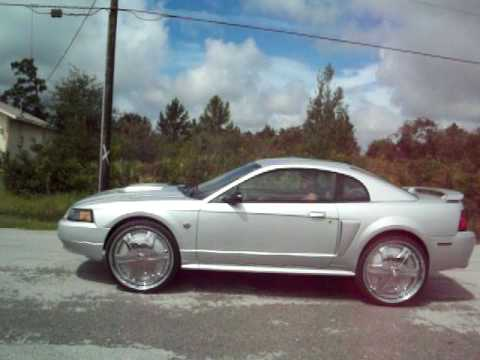 """2004 Mustang GT on 24"""" DUB FLOATERS"""
