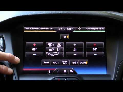 2014 Ford Focus ST MyFord Touch Infotainment Review