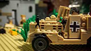 Lego WW2 - The borderline USSR - stop motion