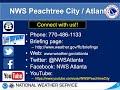 NWS Atlanta - Weekly Weather Briefing - August 20th, 2020
