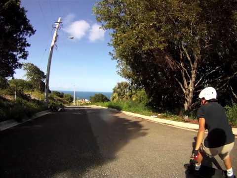 Nasem Freeriding in Puerto Rico