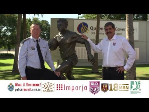 Queensland Police Service & Queensland Rugby League Commercial