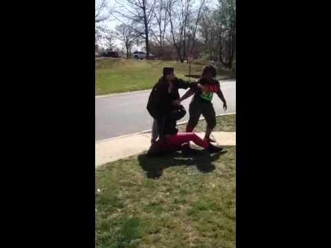 Nyomi And Jenay Fight video