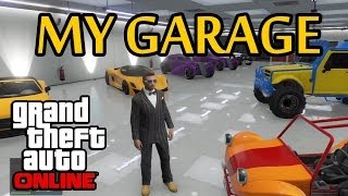 ★ GTA 5 - My Garage & Getting Revenge on a Bully! Live Commentary!