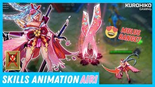 Sakura Fubuki - Skills Animation , Skin Airi - Arena of Valor (AOV)
