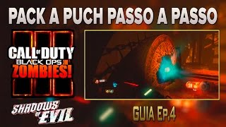 COD-BO3-Zombies- Shadows of evil - Pack a punch passo a passo (Bem explicado)