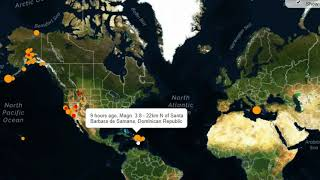 Strong Earthquake Hits South Sandwich Islands, M3.8 Hits Idaho and Dominican Republic