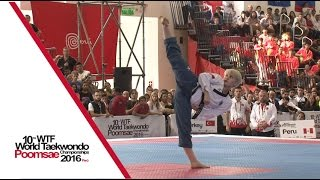 Under 30 Individual Female Final | Marcela CASTILLO TOKUMORI (PER) vs Elif Aybuke YILMAZ (TUR)
