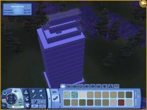 Como hacer edificios en los sims 3