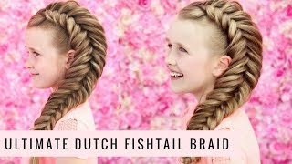 The ultimate Dutch Fishtail Braid by SweetHearts Hair