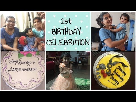 Birthday Celebration at Home Vlog