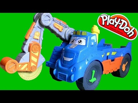 Play Doh Buzzsaw the Woodcutter Playset Diggin' Rigs NEW 2014 Construction Playdough