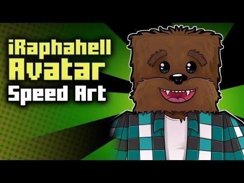 Minecraft Avatar Speed Art - iRaphahell