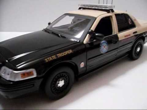 Florida Highway Patrol K 9 Crown Victoria W Custom Interior Youtube