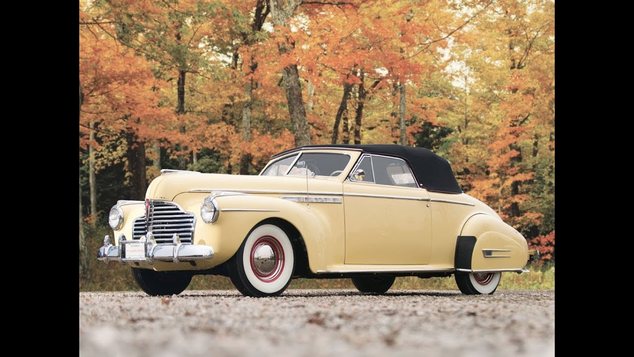 1941 Buick Roadmaster Convertible Coupe 137 500 Sold Youtube