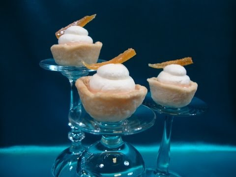 Episode 115 - Grapefruit Tartlets - 9-13-12 - The Aubergine Chef HD