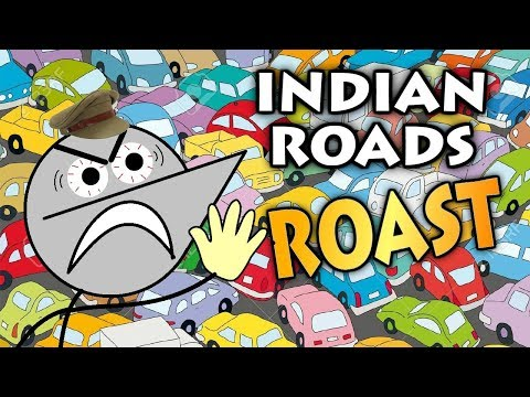 THIS IS INDIAN ROAD   Angry Prash