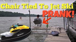 Chair Tied Jet Ski Prank