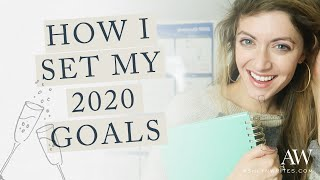 HOW TO SET YOUR 2020 GOALS WITH POWERSHEETS
